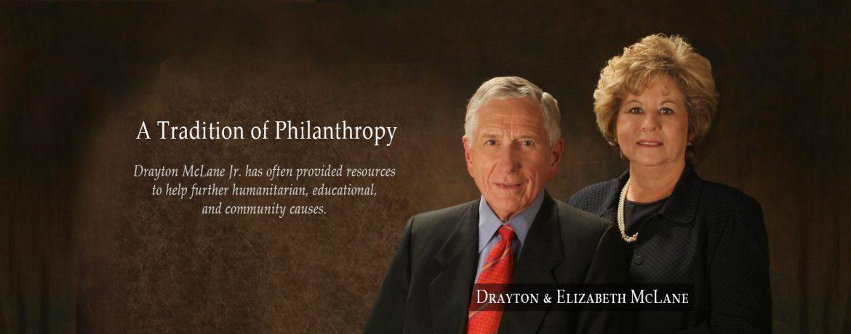 Drayton McLane Jr Philanthropy