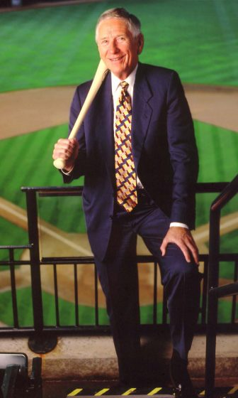 Drayton McLane Jr former Astros owner.